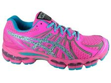 Asics Nimbus 15 Reflective Running Shoes Womens NEW Hot Pink Blue Lite Show