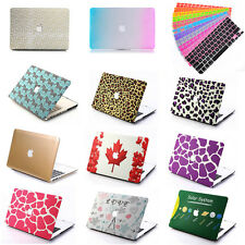 "Hard Case Cover Laptop Shell + Keyboard Skin For Macbook Pro Air Retina 13"" 15"""