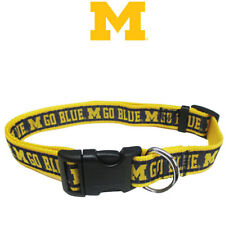NCAA Pet Fan Gear MICHIGAN WOLVERINES Collar Collars for Dog Dogs Puppy