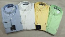 Ralph Lauren Polo Pony Classic Fit Oxford Long Sleev Dress Shirt 16.5 17.5 36 37
