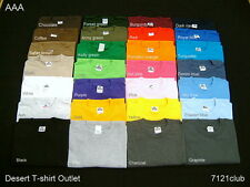 1 New men's blank AAA T-shirt ALSTYLE APPAREL any plain color size S M L & XL