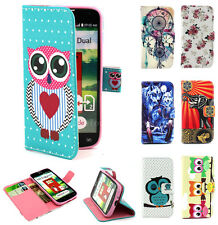Wallet Stand PU Leather Flip Case Cover Pouch For LG Optimus L90 L70 L40 G2 mini