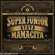Super Junior - [MAMACITA] AYAYA (7th Album A ver) CD+Photobook+Poster+Gift Photo