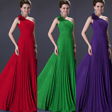 CLEARANCE New Long Chiffon Evening Cocktail Party Ball Prom Bridesmaid Dresses D