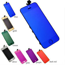 Electroplating Colored LCD Display+Touch Screen Digitizer Assembly for iPhone 5