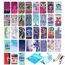 Flip Leather Wallet Card Rubber Cover Case Stand For Sony Xperia Z1 mini Compact