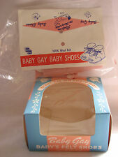 Vintage Baby Gay Shoe Kit New Unopened in Package Includes Box