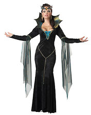 Evil Sorceress Snow White Fairytale Queen Witch Sexy Womens Halloween Costume