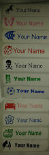 10 personalised school/nursery name label Stickers, tags