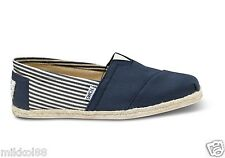 TOMS Men's University Rope Classic Classics Slip On Shoes Uni Navy COLOR NEW