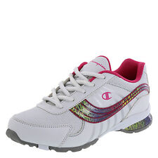 Champion Girl's PEPPER Runner WHITE