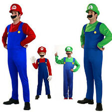 Super Mario Mascot Costume Suits Adult / Kid New Performance Clothing Hat SW0007