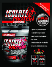 100% Whey Protein Isolate 5 lb - 3 Amazing Flavors With Goliathlabs T-Shirt