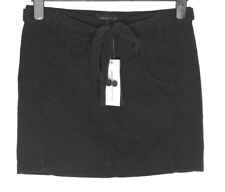 Bnwt Womens French Connection Skirt + Belt Fcuk RRP£45 New Black