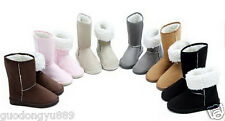 Cheap processing  Women Winter Warm Mid-calf Snow Boots Shoes all Sizes