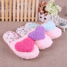 Lovely Home Woman's Girls Super-Soft Warm House Fleece Slippers Sandals Pattern