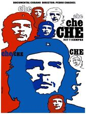 8137.Che che che.hoy y siempre.cuban documentary.POSTER.art wall decor