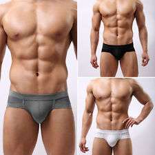 Trunks Sexy Underwear Men's Boxer Briefs Shorts Bulge Pouch soft Underpants Cute
