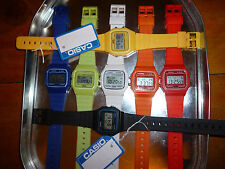 Digital Boys Wrist Watch Taken From Casio Retro F91W New Light Time Date Clock