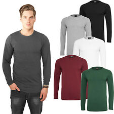 Urban Classics Long Sleeve Shirt for Men's Stretch in 6 Colours Shirt Tb816