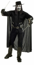 V for Vendetta Adult Mens Costume Rubies Man Cosplay Black Theme Party Halloween