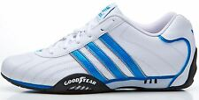 adidas Originals goodyear adi racer trainers white & blue D65636