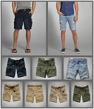 NWT Abercrombie & Fitch by Hollister  Men's CARGO SHORTS A&F AF new