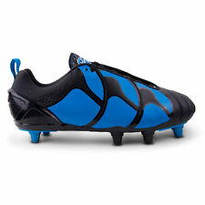 2014 BOOT BLOWOUT: Canterbury CCC Stampede ELITE 9-Stud Rugby Boots REAL LEATHER