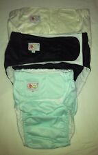 adult/teen cloth diaper incontinence aid Pocket diaper with prefold insert New