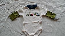 NWT GYMBOREE LIL' DIRT MAGNET TRUCK BODYSUIT TREE TOP  BULLDOZER LAYETTE