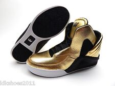 SPECTRE BY CHIMERA GOLD BLACK WHITE WHITE MEN SHOES SIZE 8.5 TO 14