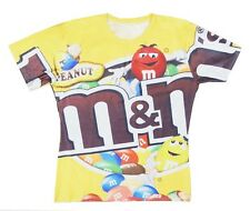 M&M's Chocolate 3D Digital Print T-shirt Tops Shirt #WD011