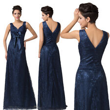 2014 Women Evening Dresses Formal Party Gown Proms Bridesmaid Long Wedding Dress