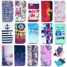 Wallet Card Holder Flip Leather Case Silicone Stand Cover Case Cell Mobile Phone