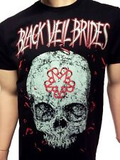 BLACK VEIL BRIDES T-SHIRT NEW BAND TEE FREE SHIPPING ROCK BAND TEES SM-2X