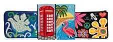 Stitch & Zip Needlepoint Eyeglass Case Kits in a Variety of Designs