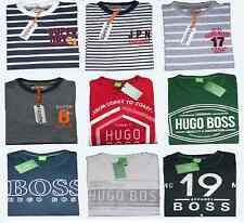 HUGO BOSS GREEN LABEL SUPERDRY  MEN'S SHORT SLEEVE T SHIRTS WHITE RED GREEN NAVY