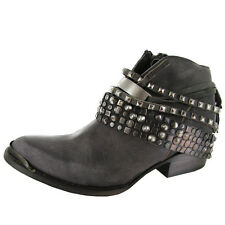 Freebird By Steven Womens Mezcal Low Leather Ankle Bootie