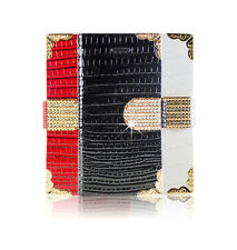 Diamond Bling Crystal Flip Leather Wallet Gem Case Cover For Apple Samsung Nokia