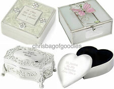 PERSONALISED TRINKET BOX Gifts for Birthday Mothers Day for Women Jewellery her