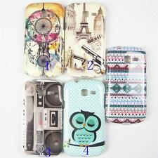 For Samsung Galaxy Trend Lite S7390 7392 TPU Case Cover Campanula OWL Tower