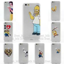 HOMER SIMPSONS SNOW WHITE FROZEN ELSA TOTEM MATTE CASE FOR APPLE IPHONE 6 (4.7""