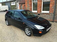 L@@K 2000 FORD FOCUS 1.8 ZETEC BLACK 5 DOOR HATCHBACK CHEAP BARGAIN CAR BE QUICK
