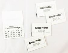 2015 Calendar Insert Tab Mini Calender Tear Off Pad Month View Xmas Craft School