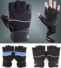 Weightlifting Gym Training Fitness Workout Wrist Wrap Sports Exercise Gloves