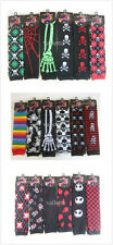Wholesale Halloween Popular Arm Warmer Fashion Long Gloves Skull Party Gift