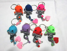 Thief  Voodoo String Doll  Keychain Ornament Accessory Gift (Thai handmade)