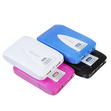 10400mAh LED Power Bank Carica Batteria Esterna 2 USB X iPhone 6 SAMSUNG LG HTC