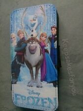 Disney Frozen Flip Wallet leather Case Cover for ALL Iphones, Samsungs