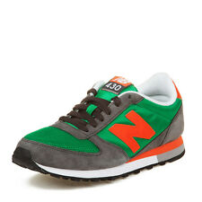 New Balance Mens 430 Grey/Green/Orange U430KGO